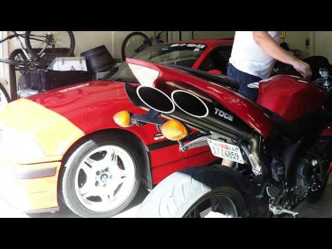 Toce T-Slash Performance Exhaust Vs. Stock Yamaha R1 04 05 06
