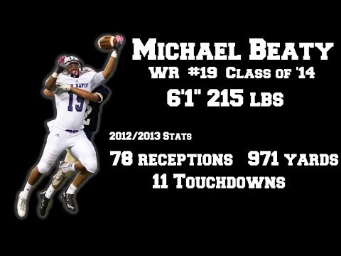 Michael Beaty Football Highlights - Ben Davis High School