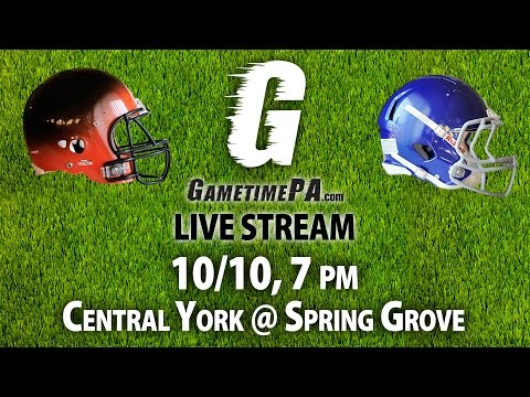 FOOTBALL: Central York @ Spring Grove, 10/10