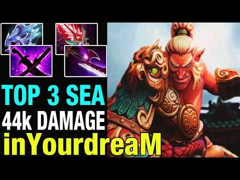 TOP 3 MMR SEA - inYourdreaM 8400 MMR Plays Troll Warlord - Dota 2