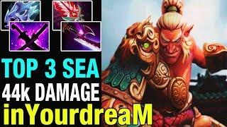 TOP 3 MMR SEA - inYourdreaM 8400 MMR Plays Troll Warlord - Dota 2