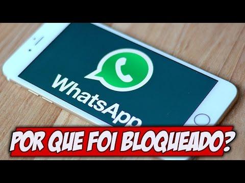 Por que o Whatsapp foi bloqueado no Brasil? DE NOVO
