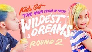 Wild Hair Colors Part 2 | Kids Hair | HiHo Kids