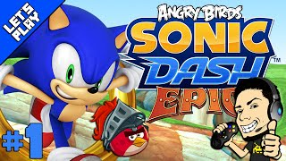 SONIC DASH | ANGRY BIRDS EPIC TAKEOVER for Android and iPhone