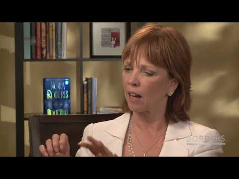 Nora Roberts on Borders True Romance
