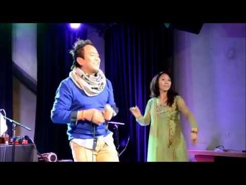 Ramji Khand & Janaki Magar - Nepali Samaj Leuven - Cultural program - Leuven