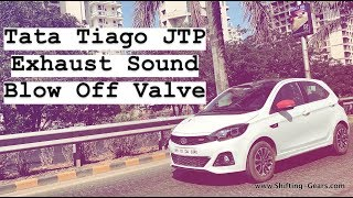 Tata Tiago JTP Exhaust & Blow Off Valve Sound ❤️