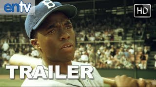 '42' Official Trailer [HD]: The Real Life Story Of Jackie Robinson, Baseball Legend