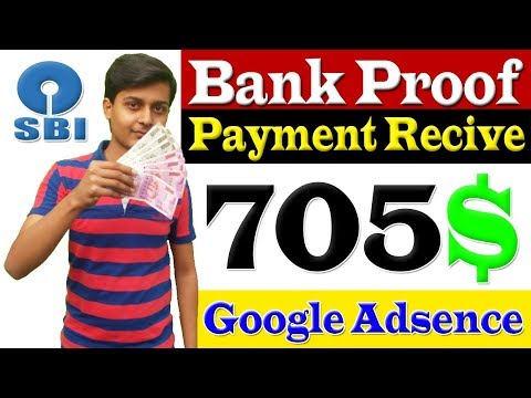 Bank Proof 705$ || My Adsense earning and admob earning proof || Motivation video by Aditya Singh