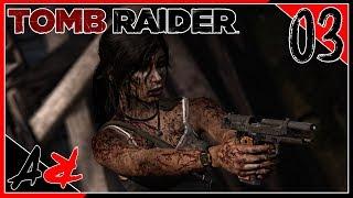 Tomb Raider - Ep3 - Lara's First Human Kill Then Many More