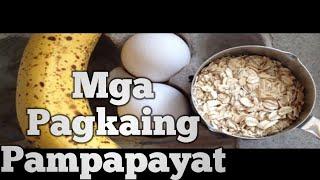 18 na Pagkaing Pampapayat