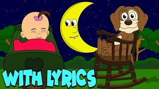 Rock-A-Bye Baby WITH LYRICS | Nursery Rhymes And Kids Songs