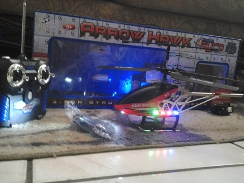 dapper reviews My christmas presents FINALE!#4 Arrow hawk RC hellicopter