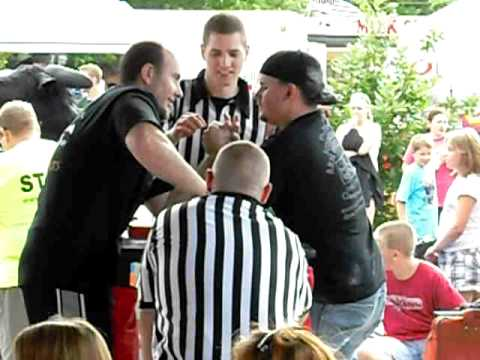 2011 Minnesota Armwrestling Tournament - Bad Grip -  Adam King Wildthing
