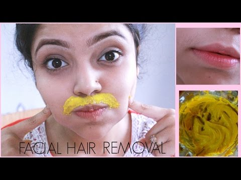 DIY Facial Hair Removal Mask   Naturally & Permanently at Home