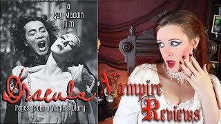 Vampire Reviews: Dracula, Pages from a Virgin's Diary