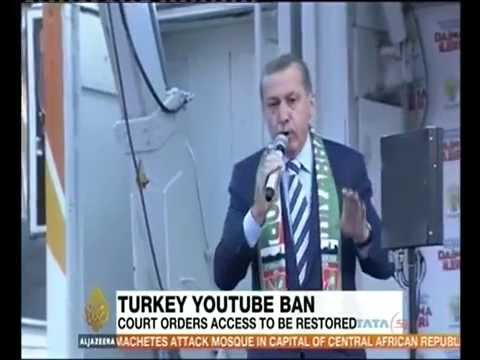Turkey: Top court rules out YouTube ban