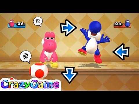 Mario Party 9 Garden Battle #16 Luigi vs Toad vs Peach Gameplay (Master CPU)