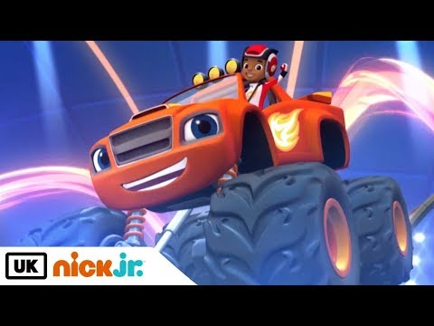 Blaze and the Monster Machines | Sing Along: Theme Tune | Nick Jr. UK