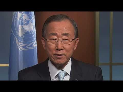 UN Secretary-General Ban Ki-moon: World Humanitarian Day 2012 -- I WAS HERE
