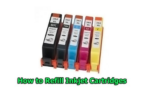 How to Refill Inkjet Cartridges