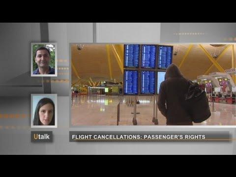 euronews U talk - Flight cancellations: Passenger's rights