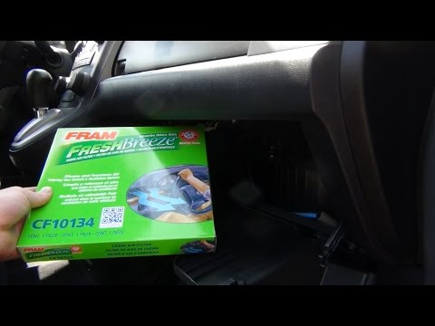 Cabin Air Filter Replacement - 2008 Honda CR-V