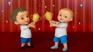 Mehnat Se Hoti Hai Jeet | Hindi Rhymes for Children Collection | Infobells