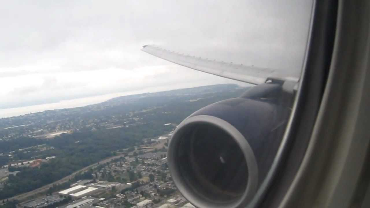 Tokyo (NRT) to Seattle (SEA) United Airlines #876 Aborted landing / go