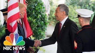 President Donald Trump, Singapore's Prime Minister Speak From White House (Full) | NBC News
