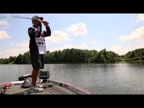 Matching Forage Size for Schooling Bass Fishing