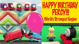Percy's Big Birthday Bash - Thomas and Friends World's Strongest Engine