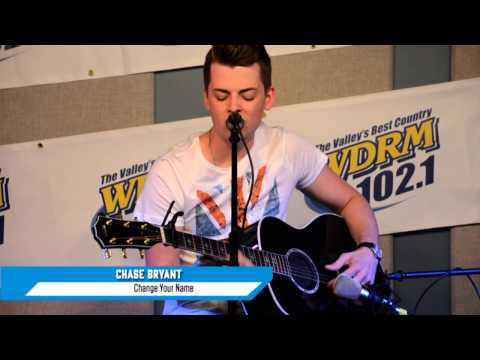 Chase Bryant sings Change Your Name