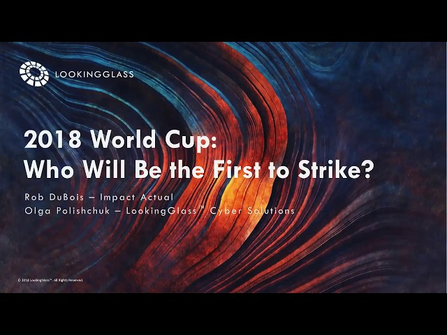 2018 World Cup: Who will be the first to strike?