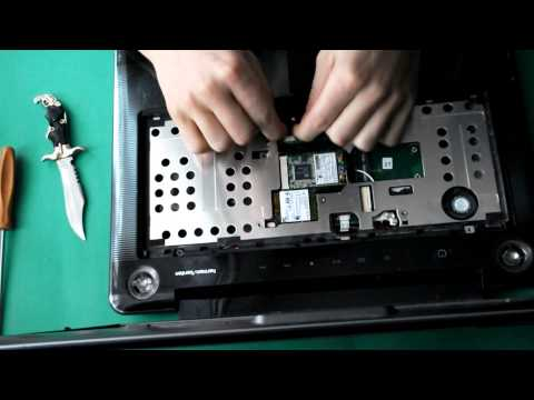 Toshiba satellite A300 разборка / disassembly