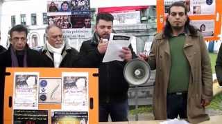 براندازان : تجمع 8 فروردين در بروکسل مقابل اتحاديه اروپا