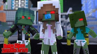 BABY ELLIE STARTS A ZOMBIE ARMY! | Minecraft Little Kelly