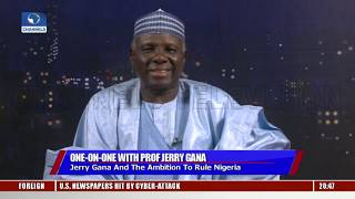 Jerry Gana Promises 'Security Re-Engineering' To Restore Peace And Stability In Nigeria