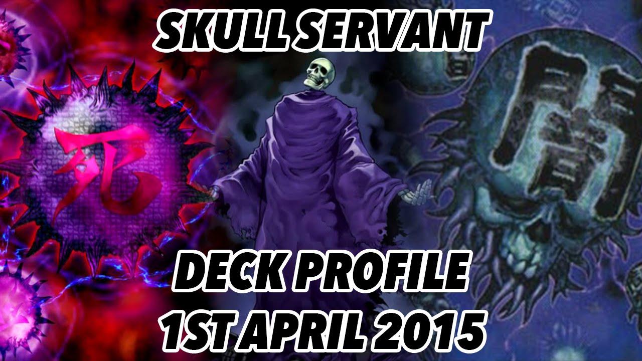 Yugioh Skull Servant Deck Skull Servant Deck Profile