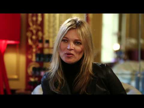 Kate Moss Interview - Launch of Rimmel Salon Pro  Nail Polish
