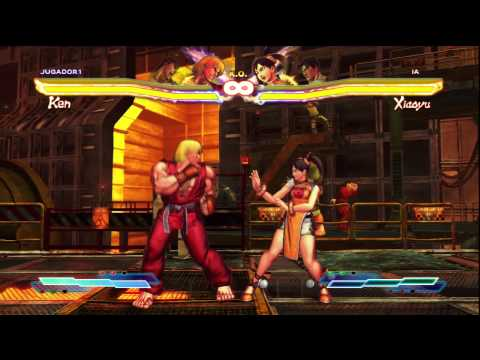 Street fighter x Tekken all Super arts (Ultra combo) HD
