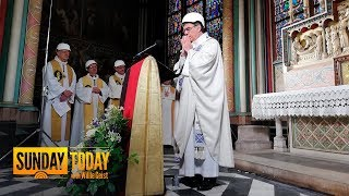 Worshippers In Hard Hats Attend Notre Dame Cathedral's 1st Mass Since Blaze | Sunday TODAY