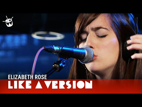 Elizabeth Rose covers Corona 'Rhythm Of The Night' for Like A Version