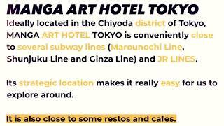 Capsule Hotel Japan ~ Manga Art Hotel Tokyo