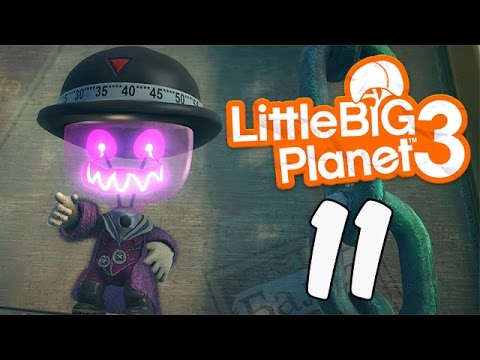 Little BIG Planet 3 [Part 11] On The Link Of Disaster (PS4 Father & Son Gameplay)