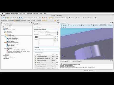 Simulación de componentes y sistemas multifísicos mediante elementos finitos