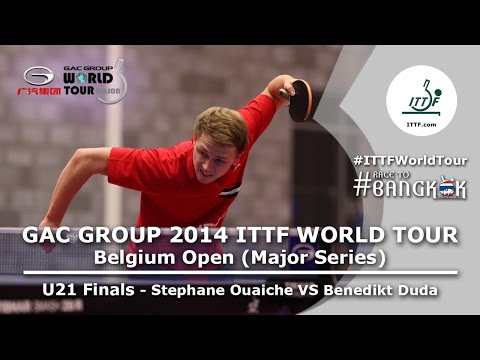 Belgium Open 2014 Highlights: Stephane Ouaiche Vs Benedikt Duda (U21 FINAL)
