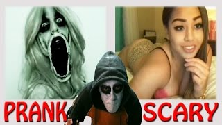DEMON Sexy GIRL + HOMBRE sin BOCA I Scary Prank CHATROULETTE
