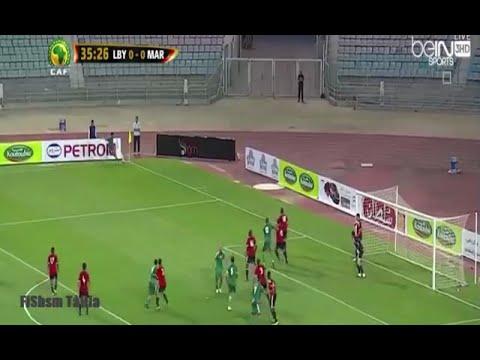 اهداف مباراة المغرب وليبيا 1-Maroc vs Libya  1