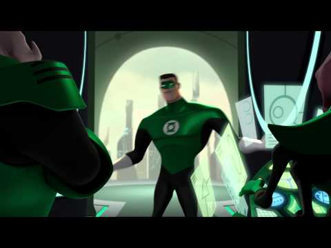 Part 1 - GREEN LANTERN THE ANIMATED SERIES 1st Pilot Episode Season One Clip on Cartoon Network